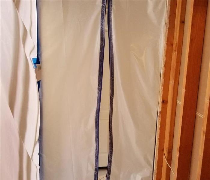 Mold Remediation Containment